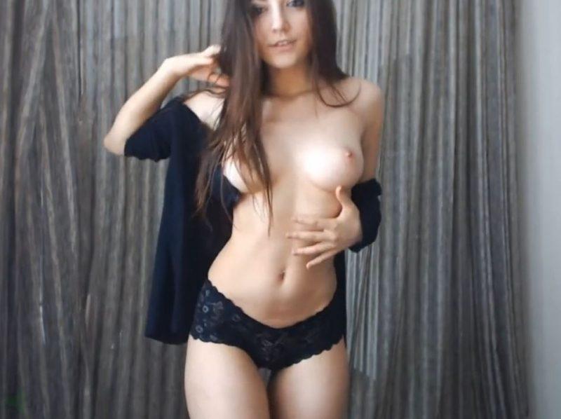 Striptease de chicas webcam en show privado